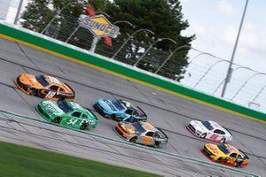 Kyle Busch, Joe Gibbs Racing, Toyota Supra Extra Gum, Daniel Hemric, Joe Gibbs Racing, Toyota Supra Poppy Bank