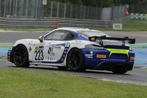#223 Autorlando Sport, Porsche 718 Cayman GT4: Emanuele Romani, Gianluca Carboni