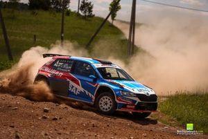 Testy przed Rally Žemaitija