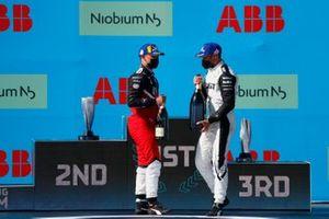 1. Edoardo Mortara, Venturi Racing, 2. Pascal Wehrlein, Tag Heuer Porsche