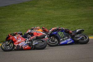 Johann Zarco, Pramac Racing, Fabio Quartararo, Yamaha Factory Racing, Marc Marquez, Repsol Honda Team