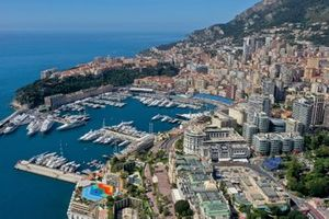A view of Monaco, the harbour
