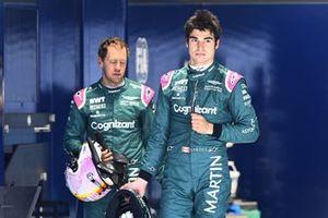 Лэнс Стролл и Себастьян Феттель, Aston Martin F1