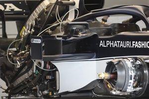 AlphaTauri AT02 detail