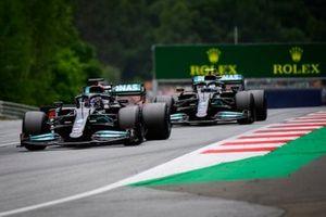 Louis Hamilton, Mercedes W12, Vallteri Bottas, Mercedes W12