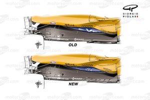 Nuevo fondo del McLaren MCL35M