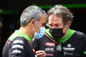 Davide Gentile, Pere Riba, Kawasaki Racing Team WorldSBK
