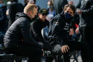 Pietro Fittipaldi, Dale Coyne Racing avec RWR Honda et Felix Rosenqvist, Arrow McLaren SP Chevrolet