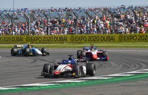 David Beckmann, Charouz Racing System, Robert Shwartzman, Prema Racing, and Lirim Zendeli, MP Motorsport