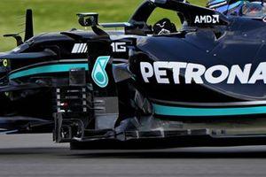 Lewis Hamilton, Mercedes W12 bargeboard detail