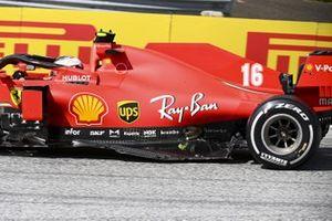 Ferrari SF1000 Шарля Леклера после аварии