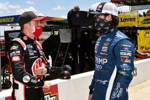 Christopher Bell, Leavine Family Racing, Toyota Camry Rheem and Corey LaJoie, Go FAS Racing, Ford Mustang Trump 2020