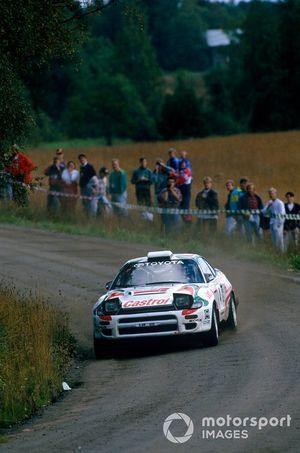 Juha Kankkunen, Denis Giraudet, Toyota Celica Turbo 4WD