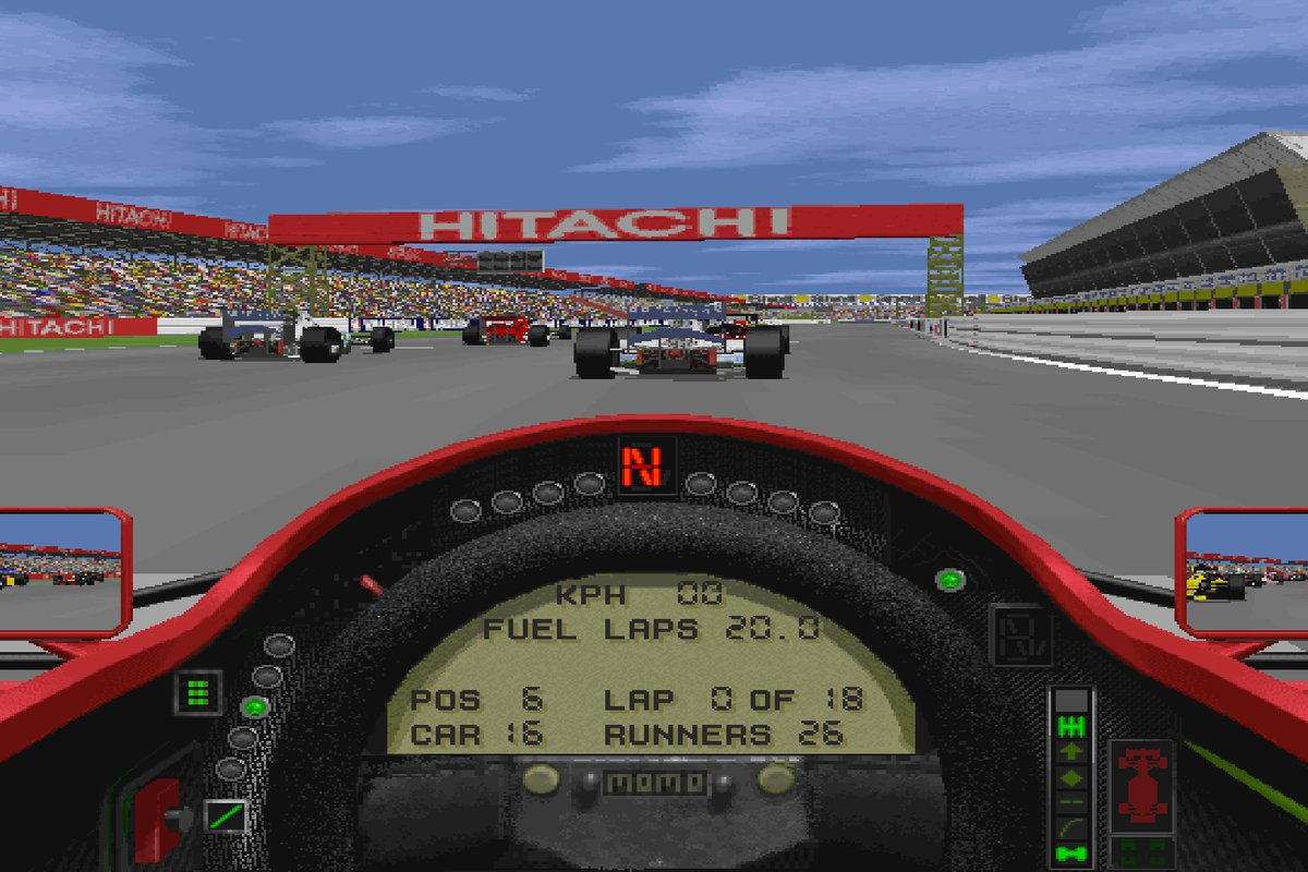 Grand Prix 2 screen shoot