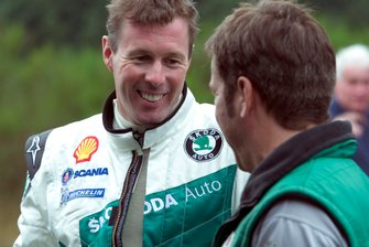 Colin McRae teste la Skoda Fabia WRC05