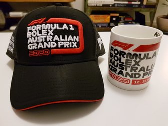 Souvenirs Australische Grand Prix 2020