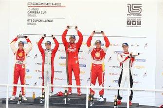 Primeiro pódio do ano na Carrera Cup - Porsche