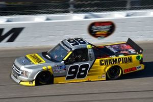 Grant Enfinger, ThorSport Racing, Champion Curb Records Ford F-150