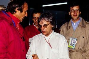 Carlos Reutemann and Bernie Ecclestone
