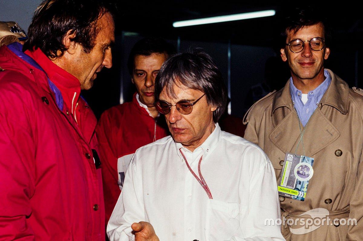 Carlos Reutemann y Bernie Ecclestone