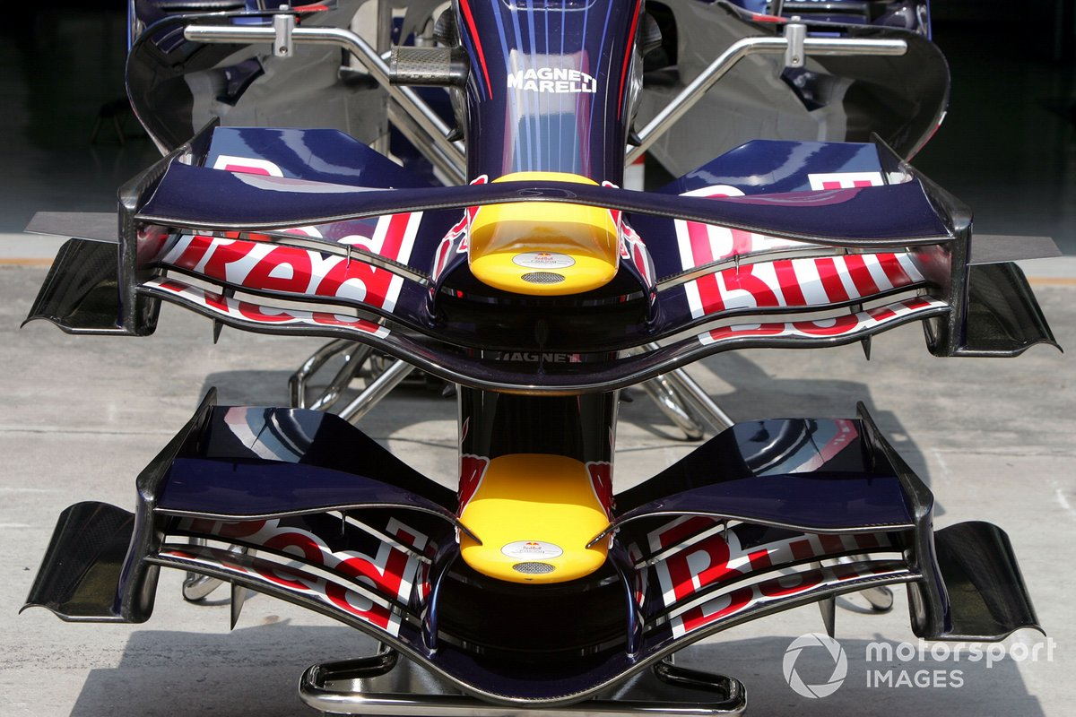 Red Bull Racing RB3 front wings