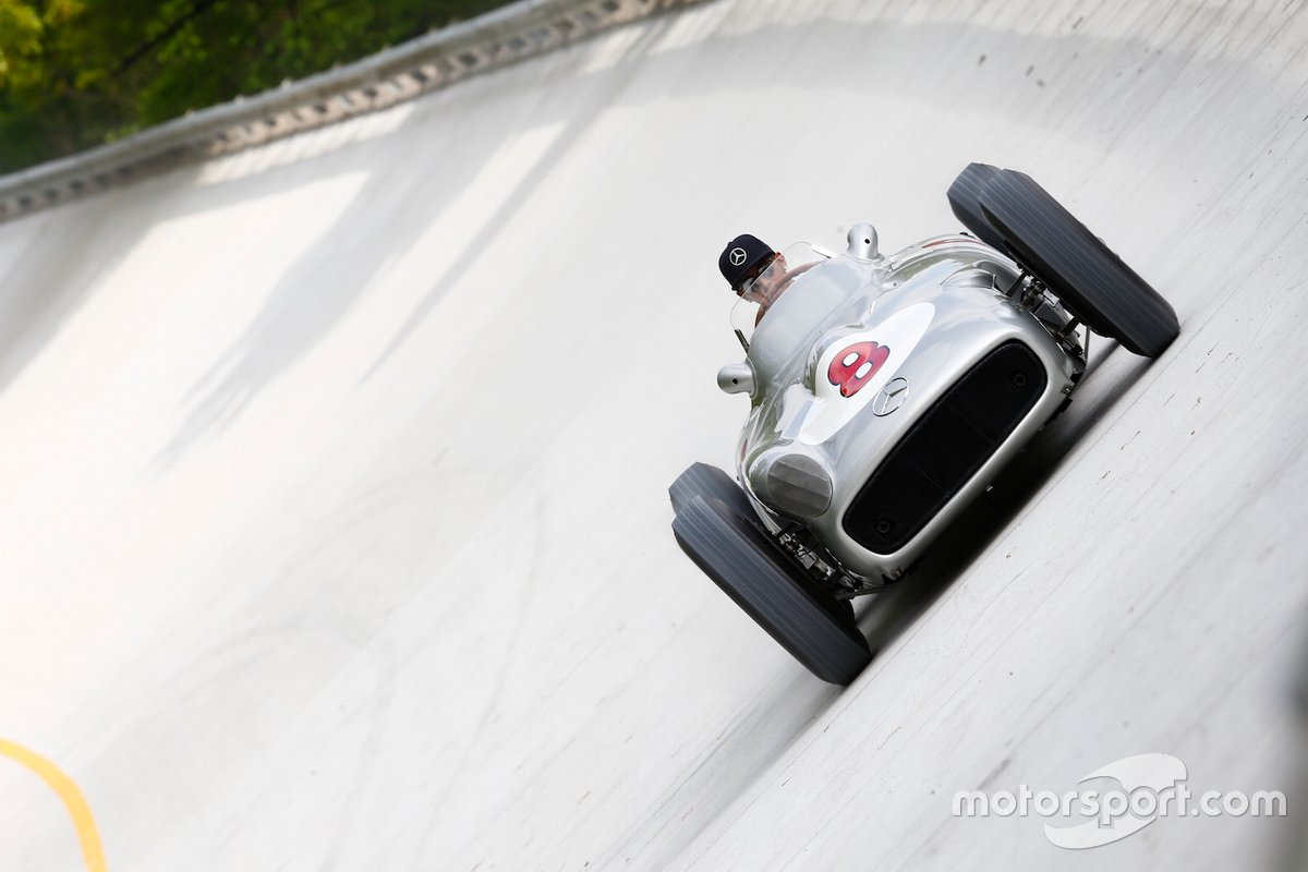 Lewis Hamilton et Sir Stirling Moss à Monza