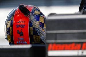 James Hinchcliffe, Andretti Autosport Honda helmet