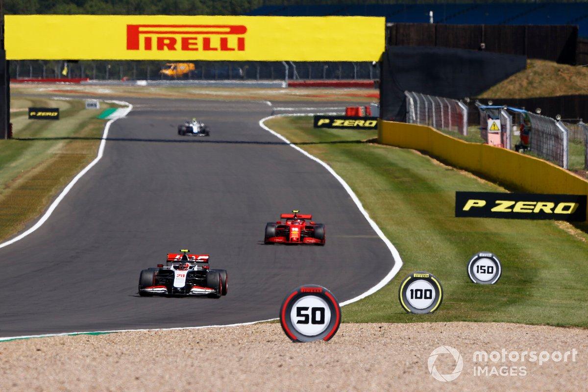 Kevin Magnussen, Haas VF-20, Charles Leclerc, Ferrari SF1000