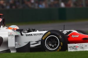 Narain Karthikeyanm, Hispania Racing F1 Team HRT F111