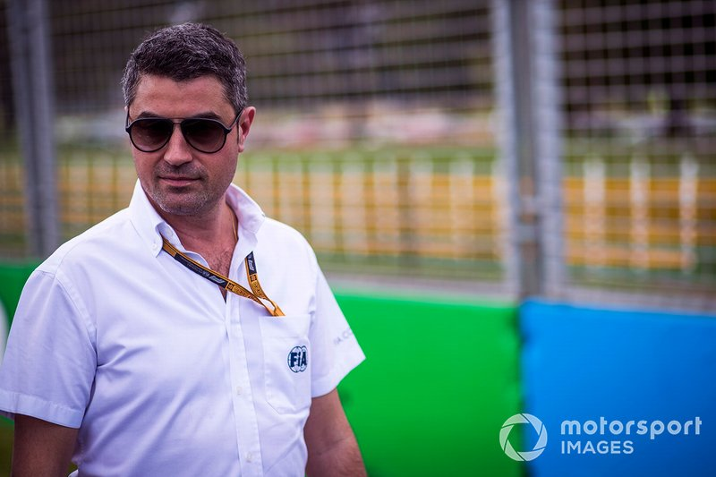 Michael Masi, director de carrera de la F1
