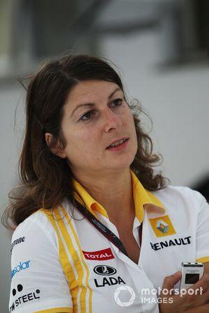 Clarisse Hoffmann, Renault Press Officer