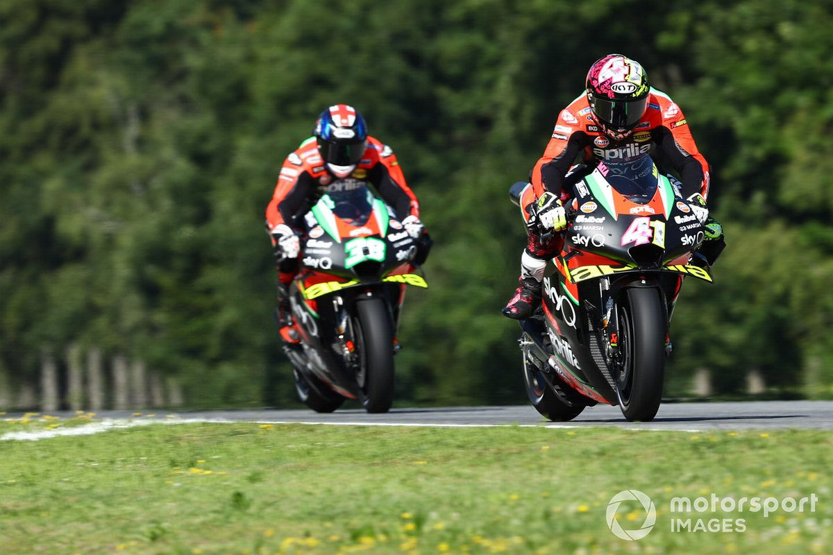 Aleix Espargaró, Aprilia Racing Team Gresini, Bradley Smith, Aprilia Racing Team Gresini