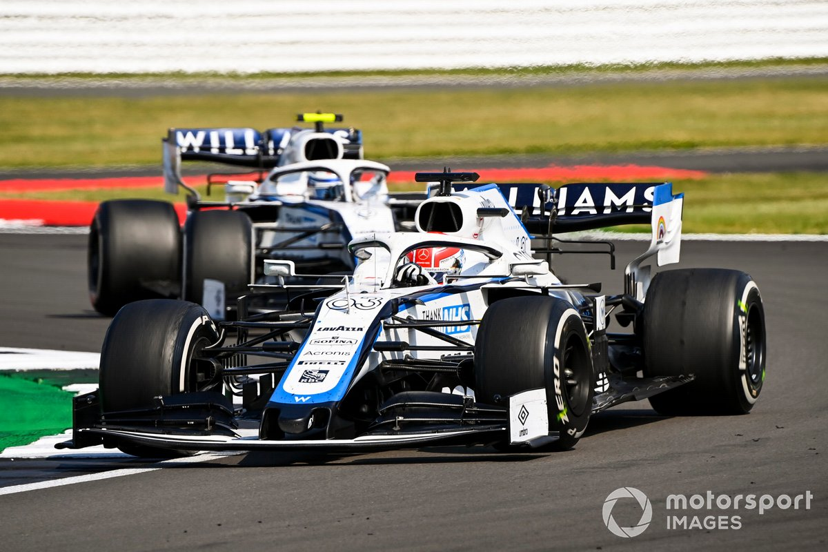George Russell, Williams FW43, Nicholas Latifi, Williams FW43