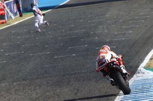 Marc Marquez, Repsol Honda Team, Marshal on track!!