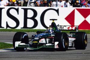 Eddie Irvine, Jaguar R2 Cosworth