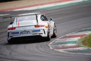 Alberto Cerqui AB Racing, Test Mugello