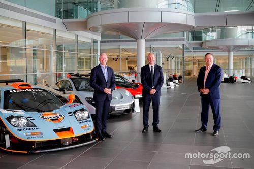 Объявление McLaren и Gulf