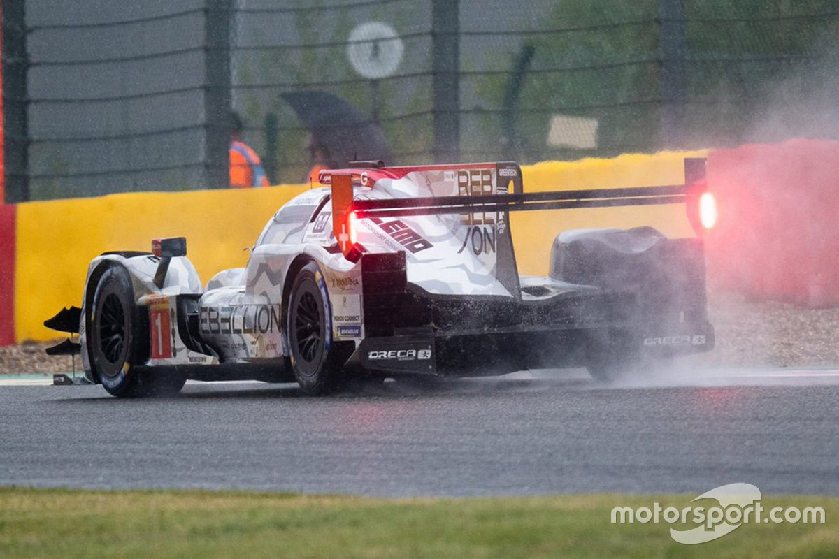 #1 Rebellion Racing R-13 - Gibson: Bruno Senna, Gustavo Menezes, Norman Nato