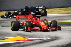 Charles Leclerc, Ferrari SF1000, Lewis Hamilton, Mercedes F1 W11 EQ Performance