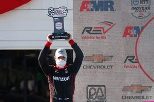 Will Power, Team Penske Chevrolet festeggia sul podio