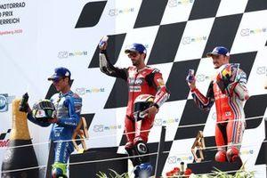 Joan Mir, Team Suzuki MotoGP Andrea Dovizioso, Ducati Team Jack Miller, Pramac Racing