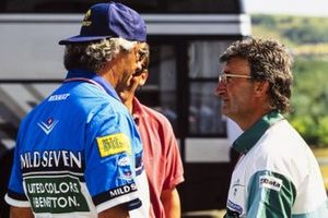 Flavio Briatore and Eddie Jordan