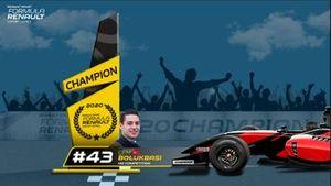 Cem Bölükbaşı, Formula Renault Esport Series, Şampiyon