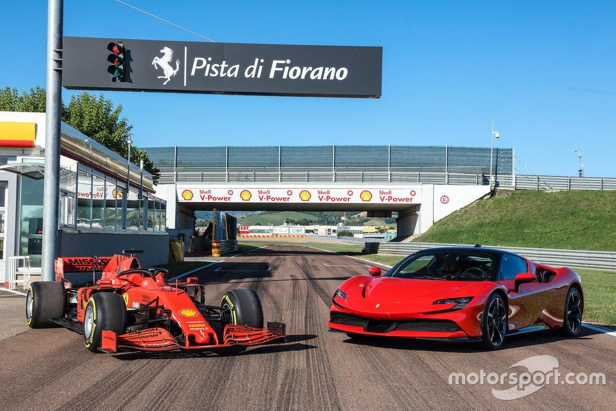 Ferrari SF90 Stradale, a Fiorano