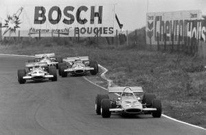 Peter Gethin, McLaren M14A, John Surtees, Team Surtees, McLaren M7C, Jack Brabham, Brabham BT33
