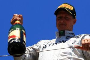 Podio: Michael Schumacher, Mercedes AMG F1