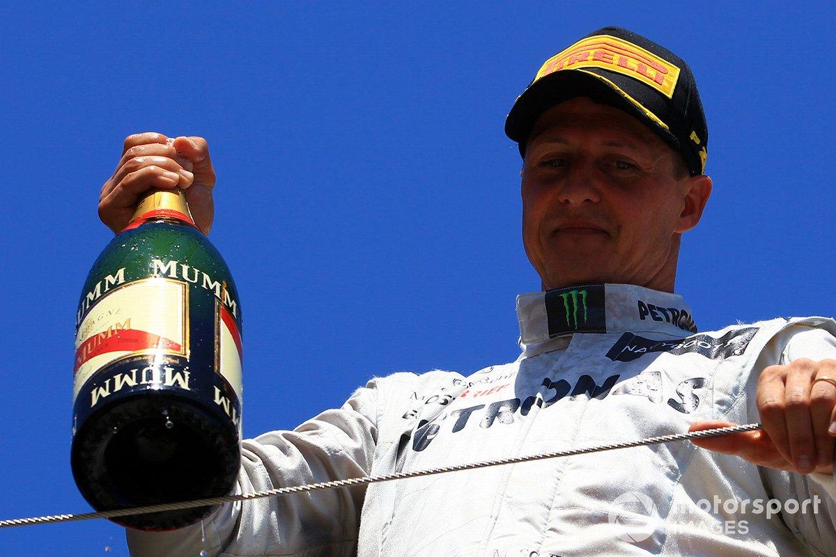 #2 Michael Schumacher 155 Podios