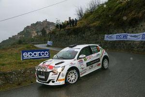Lucchesi Jr, Titti Ghilardi, Peugeot 208 Rally4 #73