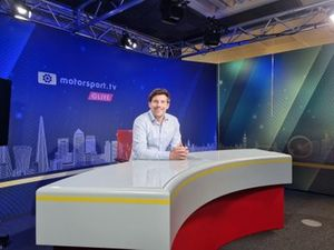 Bryn Lucas joins as one of the four main presenters of Motorsport.tv Live news channel.