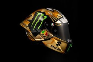 Joan Mir, Team Suzuki MotoGP celebration helmet